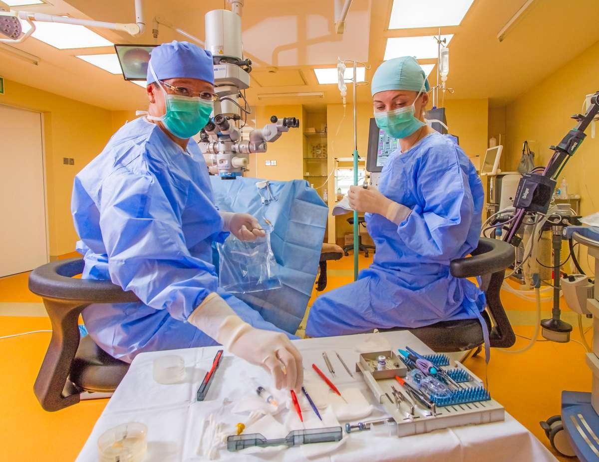 Simptomele cataracteti congenitale, diagnosticul și stabilirea momentului operator
